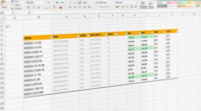 TRDATA Add-In: упрощайте работу с рыночными данными